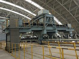 环保料场高架堆料机